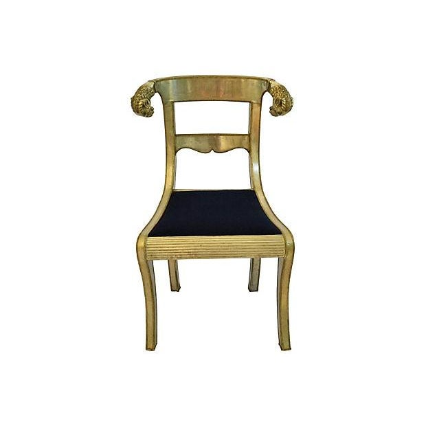 Anglo-Indian Ram's Head Chair - Image 1 of 7