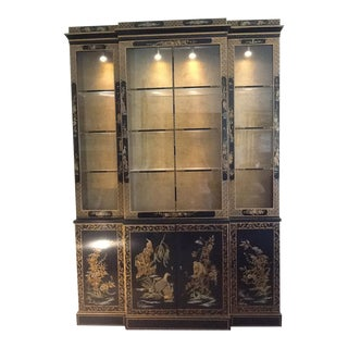 Vintage Chinoiserie Style Display Case