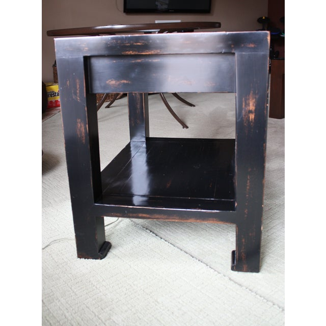 Honduran Mahogany Side Table - Image 4 of 5