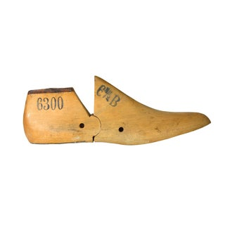 Vintage Cobbler's Wooden Shoe Form