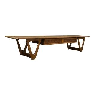 Lane Perception Coffee Table in Walnut