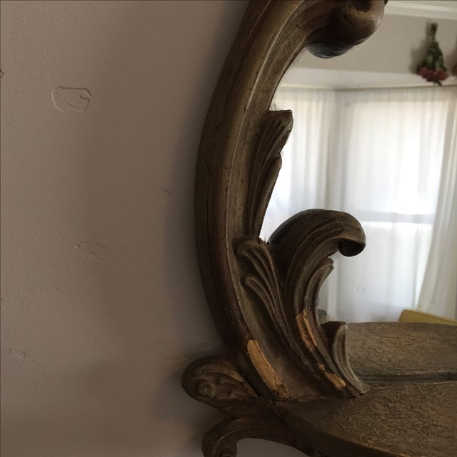 Antique Ornate Victorian Mirror - Image 5 of 6