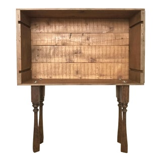 Far Niente Wine Crate Accent Table