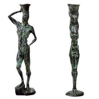 Bronze Sculpture Candle Holders