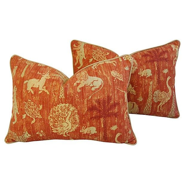 Travers Old World Byzantine Pillows - A Pair - Image 1 of 7