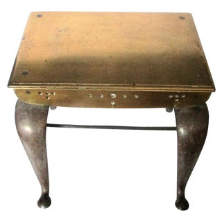 18th Century Footman's Bench Side Table