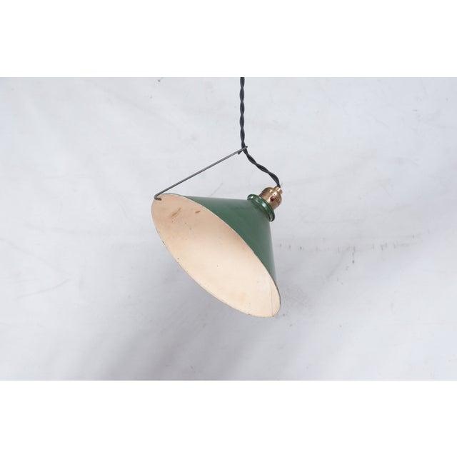 Adjustable Vintage Pendant Lights - Set of 3 - Image 3 of 7