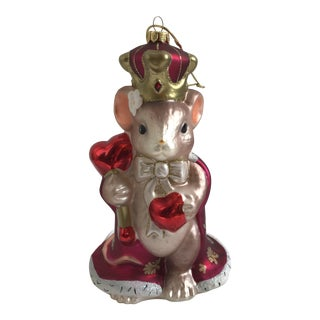 Queen of My Heart Large Collectible Glass Ornament