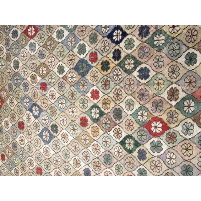 "Bellwether Rugs Vintage Turkish Zeki Muren Rug - 5'9""x7'5"" - Image 3 of 8"