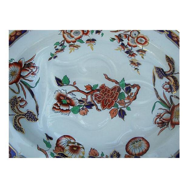 Antique Copeland Spode Imari Ironstone Meat Platter - Image 2 of 7