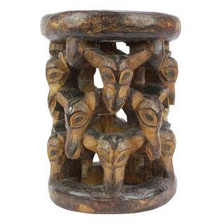 Abebi Yoruba Carved Stool