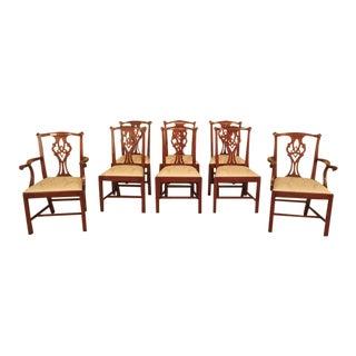 Henkel Harris Cherry #101 Dining Room Chairs - Set of 8