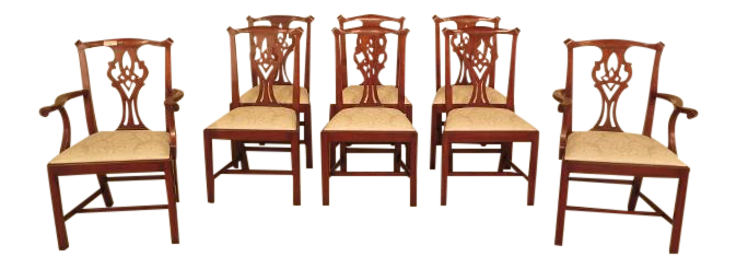 Henkel Harris Cherry #101 Dining Room Chairs   Set Of 8 Part 71