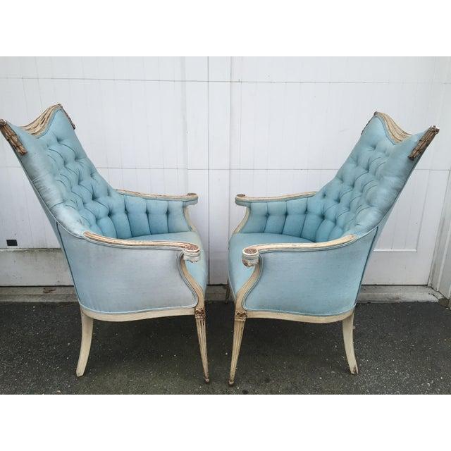Hollywood Regency Grosfeld House Armchairs - A Pair - Image 4 of 11