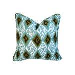 Image of Custom Eaton Square Firebird Linen Pillows - Pair