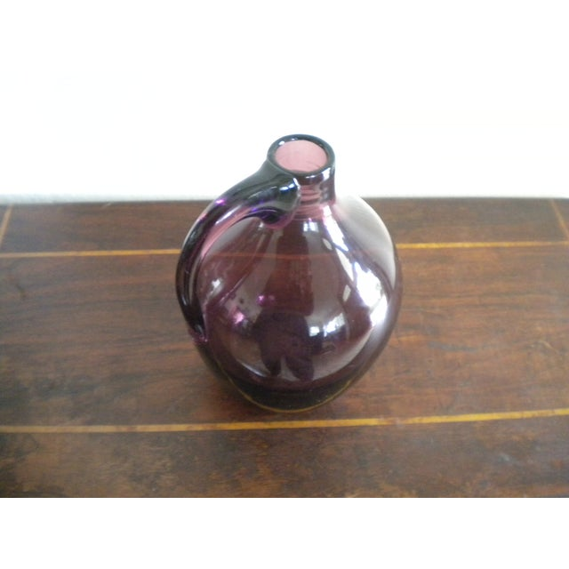 Image of Vintage Hand-Blown Glass Jug