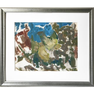Harold C. Davies California Abstract Modernist Composition