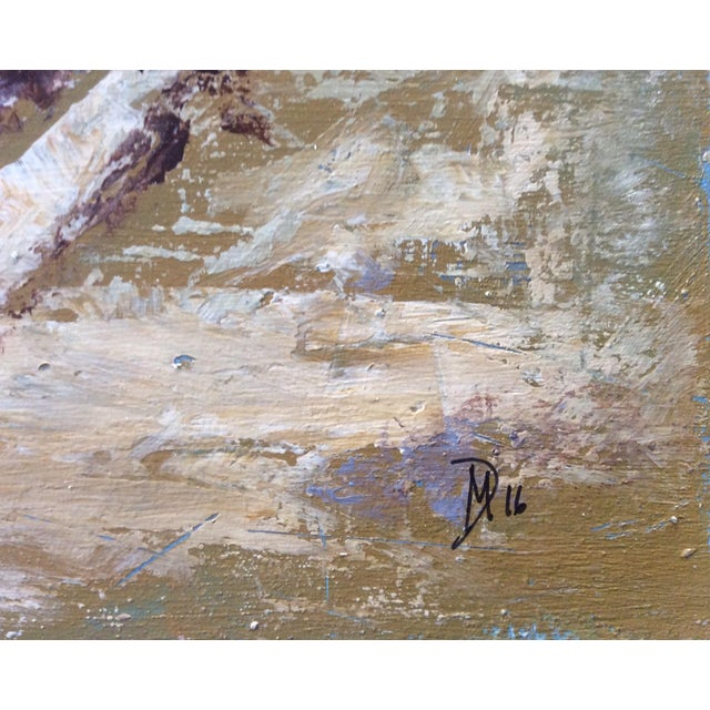 Ballston Beach Abstract Seascape Painting - Image 5 of 5
