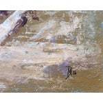 Image of Ballston Beach Abstract Seascape Painting