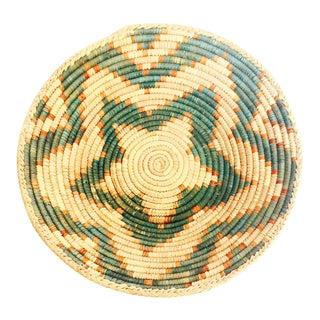 Vintage Southwestern Coil Basket