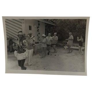 Vintage 1960s Cruise Rhumba Line Photograph