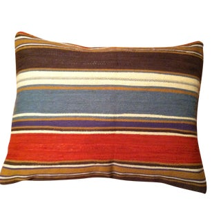 Wide Stripe Pillows - A Pair