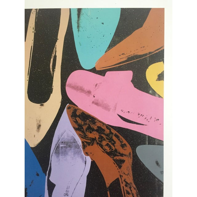 """Andy Warhol """"Diamond Dust Shoes"""" Offset Lithograph - Image 4 of 9"""