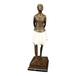 Ballerina Hommage Reproduction Bronze Statue
