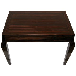 Macassar Ebony Side Table by Holly Hunt