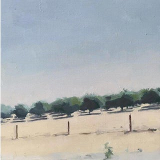 Almond Trees Original Oil Painting