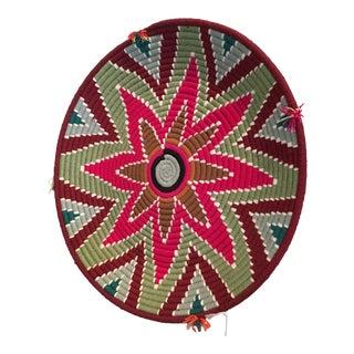Moroccan Handmade Wool Basket