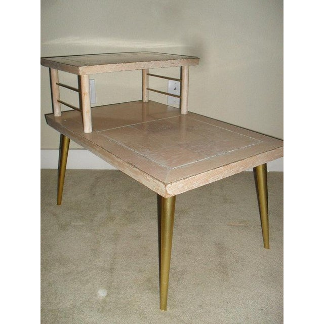 Lane Retro 1960s Two Tiered Side Table - Image 3 of 5