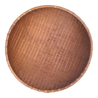 Boho Chic Round Winnowing Basket