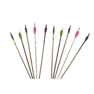 Vintage Decorative Archery Arrows - Set of 10