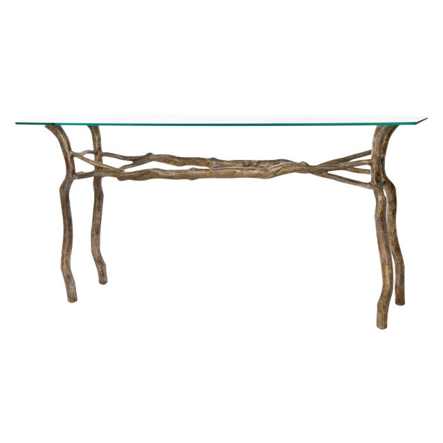 Image of Bronze Sculptured Table