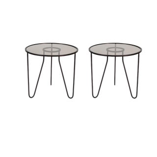 Pair of Mika Ring Tripod Tables