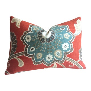 French Country Floral Pillow Cover