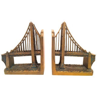 Pair of Golden Gate Bridge Bookends