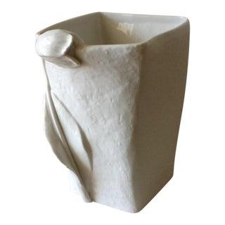 Villeroy & Bosch Sculptural White Vase