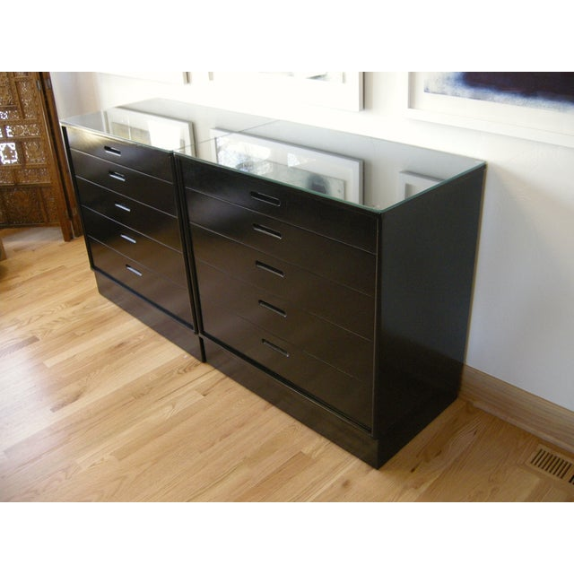 Image of Edward Wormley Dressers - A Pair