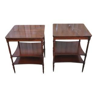 Vintage Mersman Side Tables - A Pair