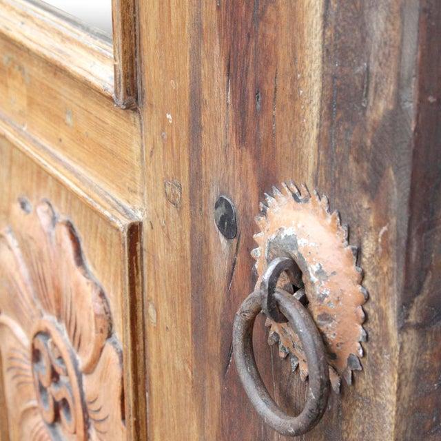Lotus Teak Mirrored Door - Image 6 of 6