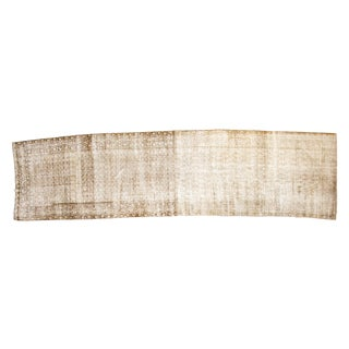 """Antique Distressed Malayer Rug Runner - 3'6"""" x 12'11"""""""