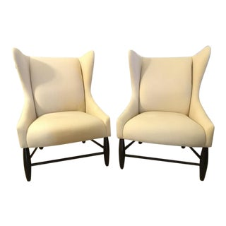West Elm Mid-Century Ellery Chairs - A Pair