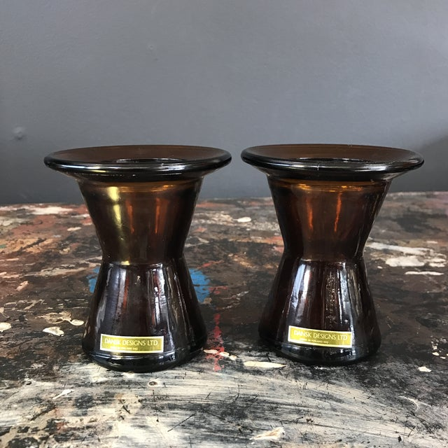 Image of Dansk Finland Candle Holders - A Pair