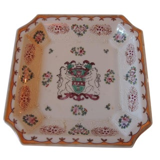 Coat of Arms Design Drinks Tray/Dish