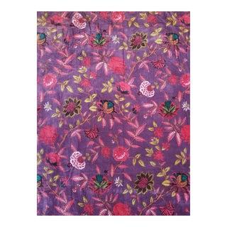 Velvet Cotton Asian Design , 3yds