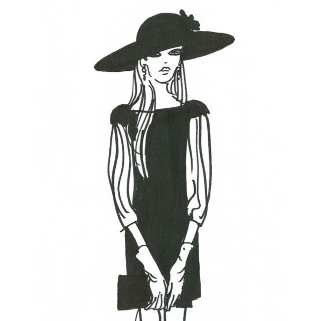 "Daniela Kamiliotis ""Maddison"" Fashion Print - Image 2 of 3"