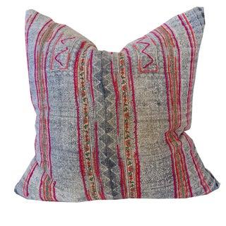 Vintage Hmong Pillow 20 x 20