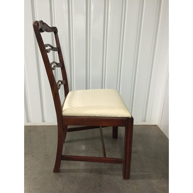 Antique Dining Room Chairs - Set of 5 - Image 4 of 7